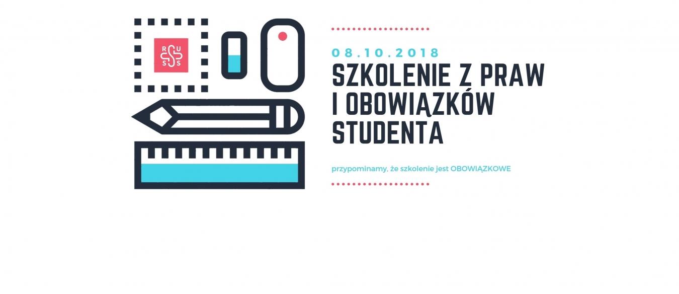 Szkolenie dla pierwszorocznych z praw i obowiązków studenta